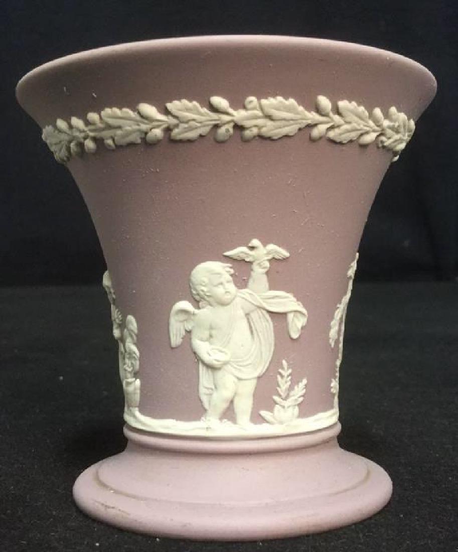 Wedgwood Jasperware Flower Vase - 3