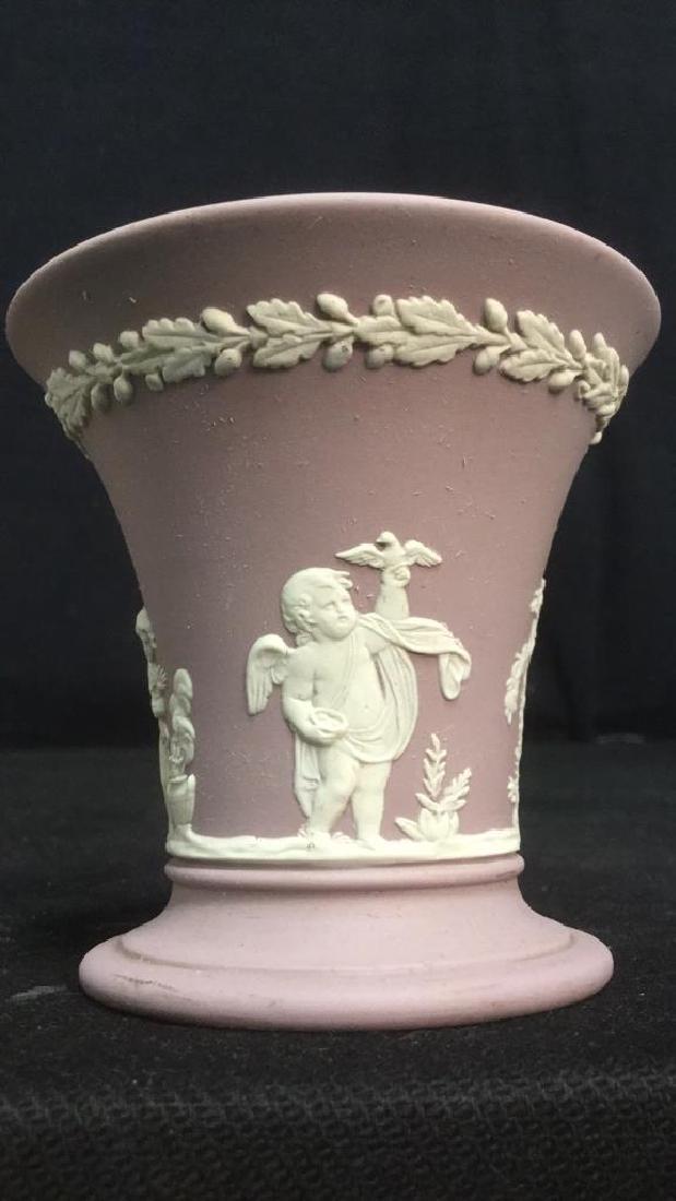 Wedgwood Jasperware Flower Vase - 8