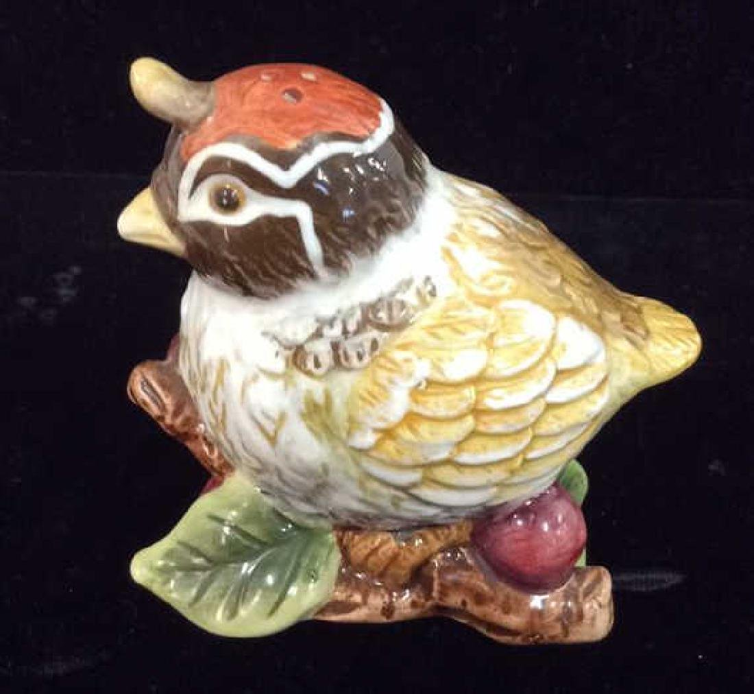 Lot 2 Bird and Pear Salt And Pepper Shaker - 6