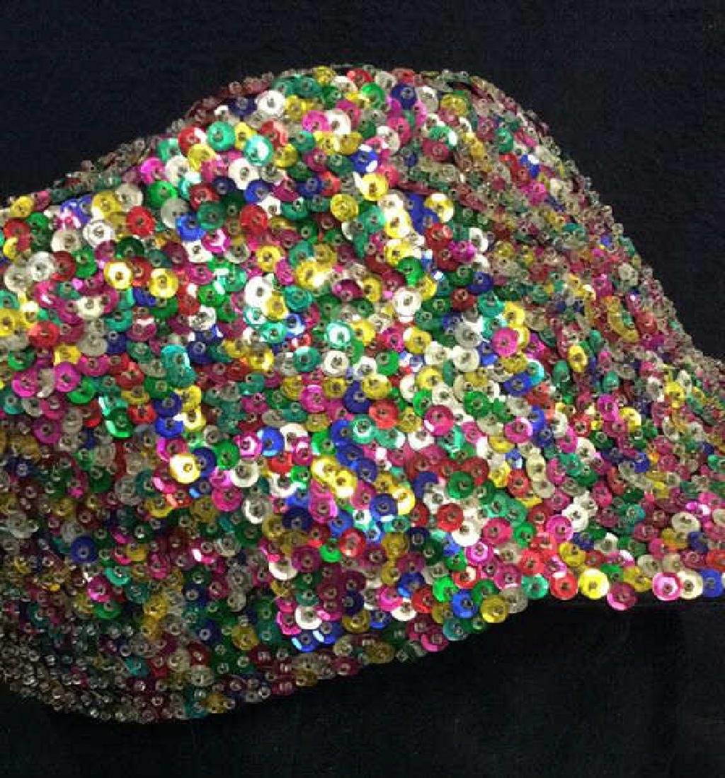 VIntage Sparkley Sequin Baseball Cap - 5