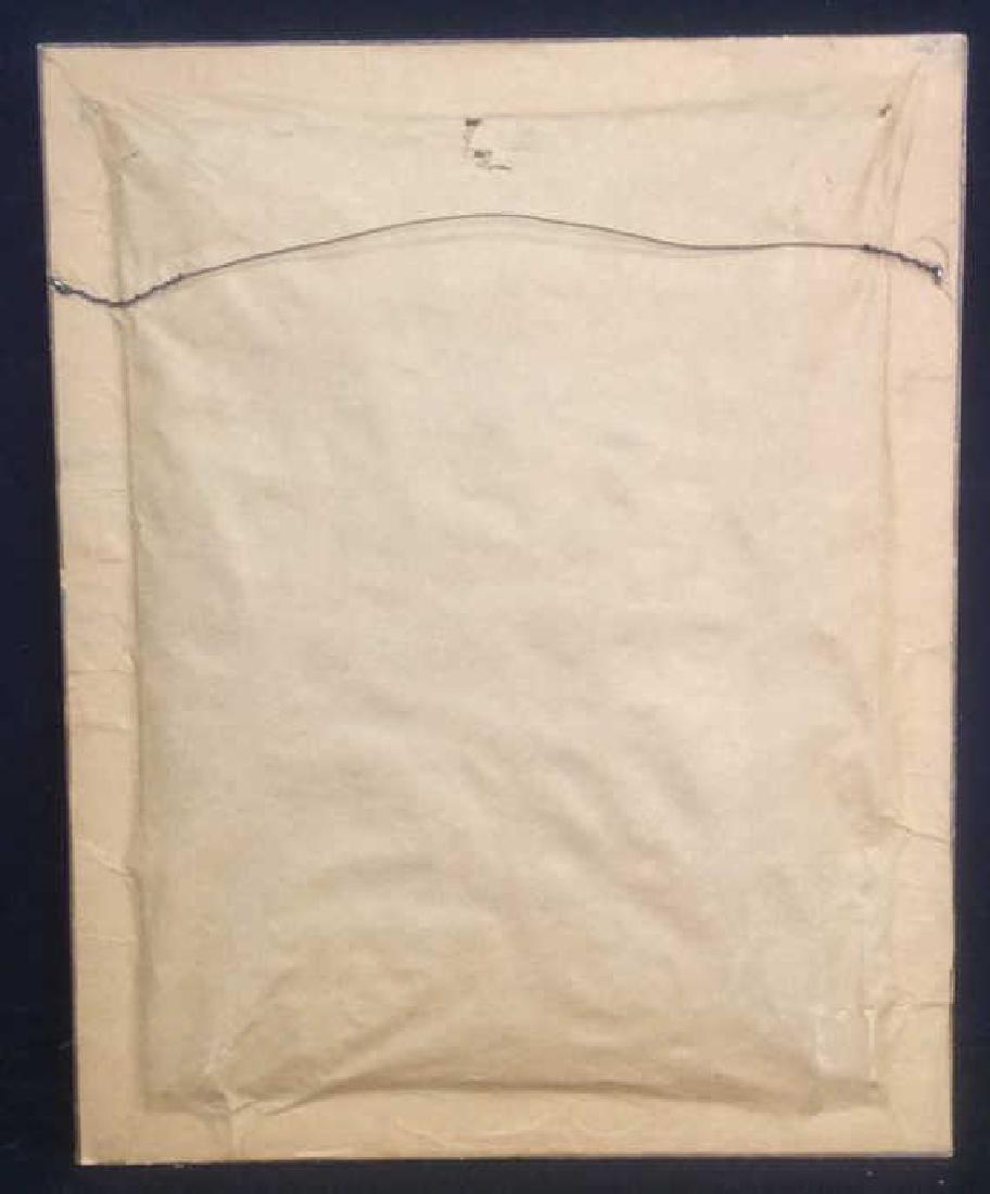 MG Framed Tapestry of Male Figure - 10