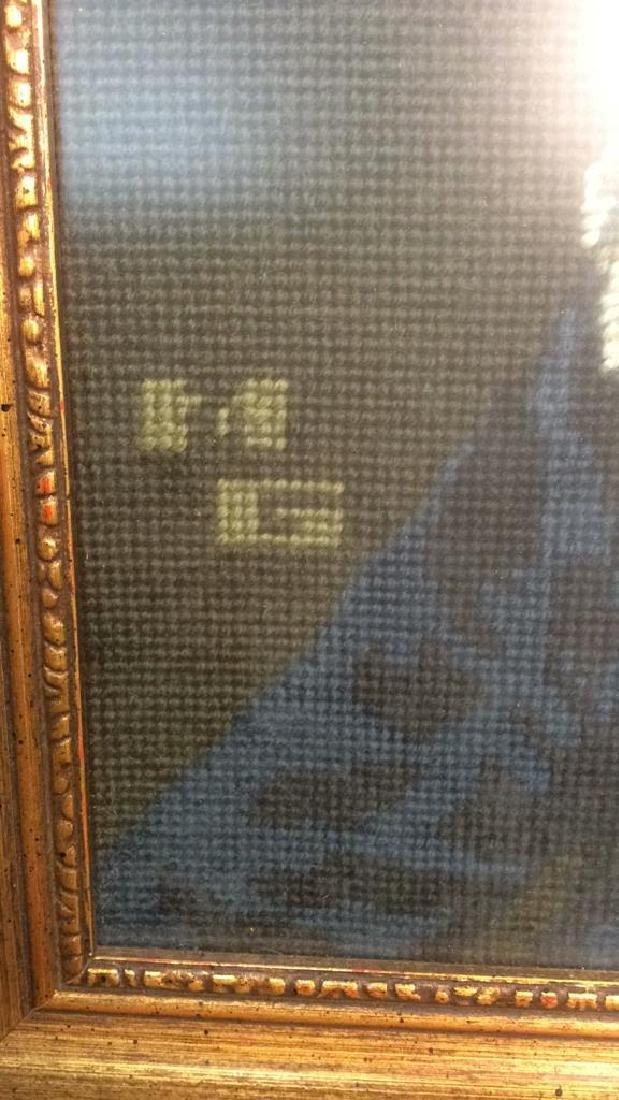 MG Framed Tapestry of Male Figure - 6
