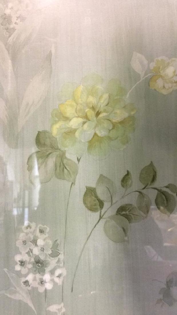Framed & Matted Floral Print Artwork - 7