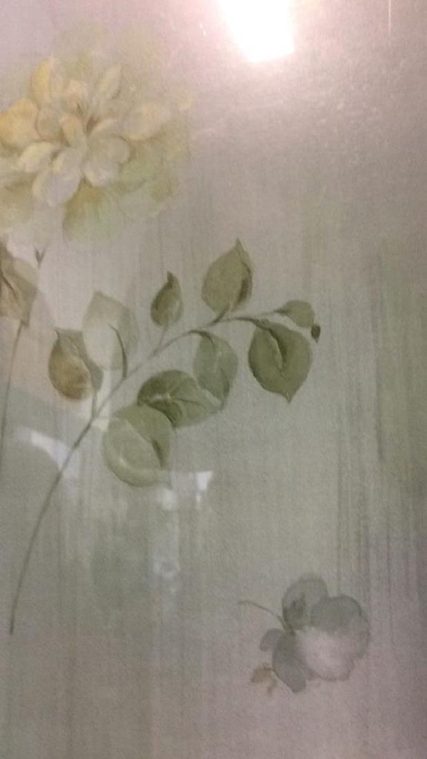 Framed & Matted Floral Print Artwork - 9