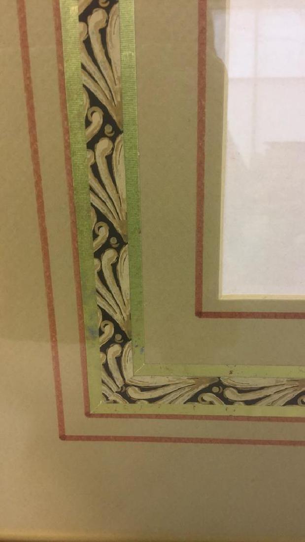 Pair Of Intricately Framed Botanical Prints - 4