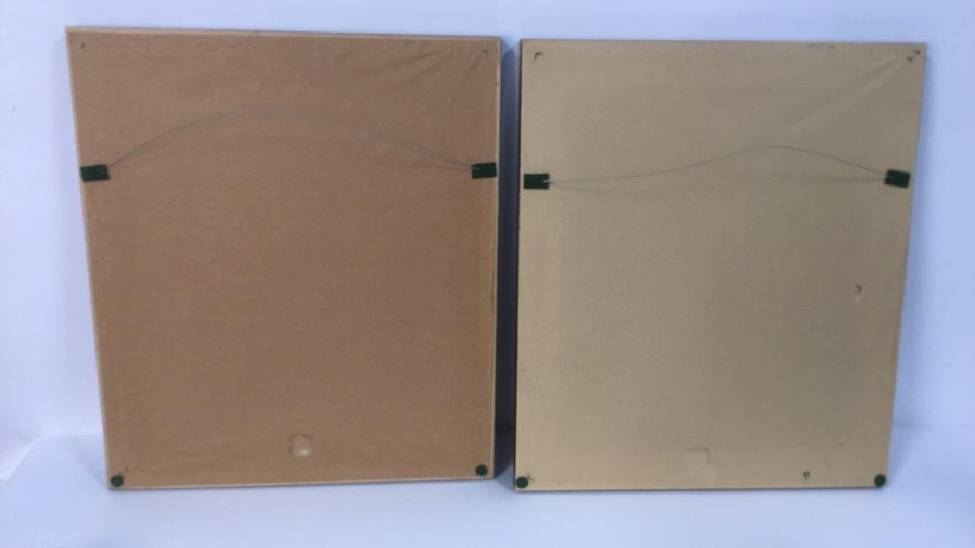 Pair Of Intricately Framed Botanical Prints - 8