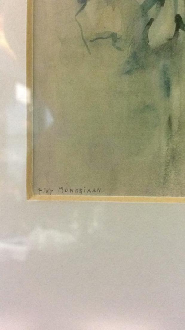 PIET MONDRIAN Framed & Matted Print Art - 5
