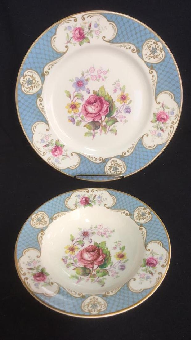 Lot 4 Mayotte Son And Co Tranferware Dishes - 2