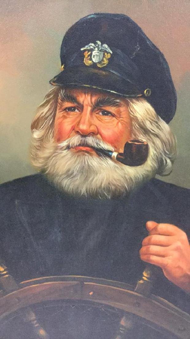 Kim Benson Portrait Of A Sea Captain Oil Painting