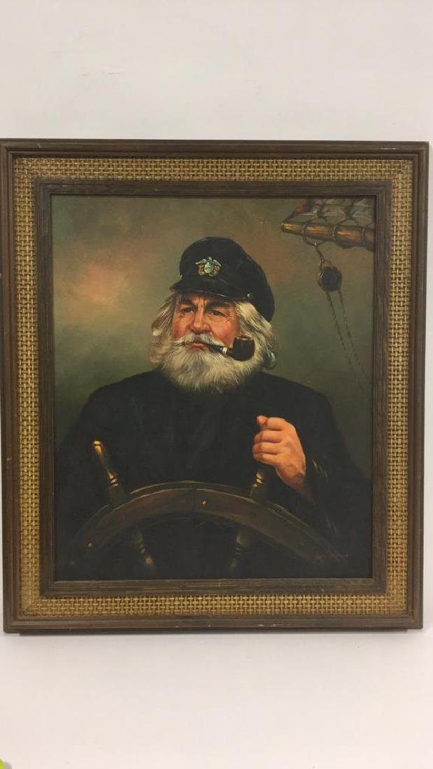 Kim Benson Portrait Of A Sea Captain Oil Painting - 2