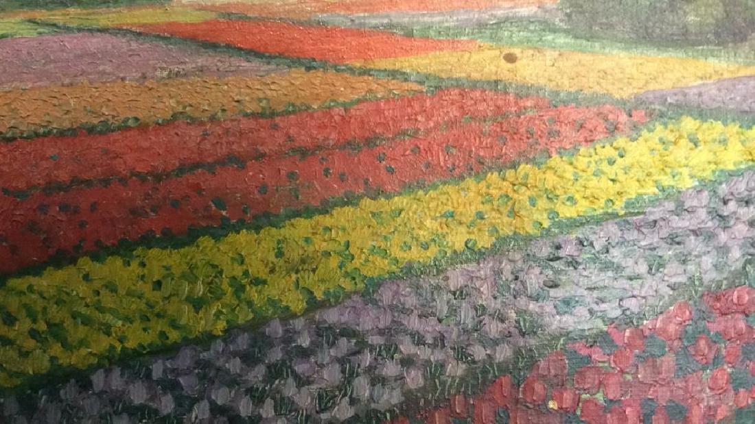 Dutch TulipLandscape Painting On Canvas - 4