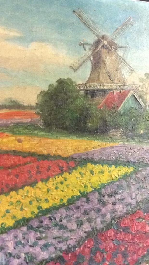Dutch TulipLandscape Painting On Canvas - 5