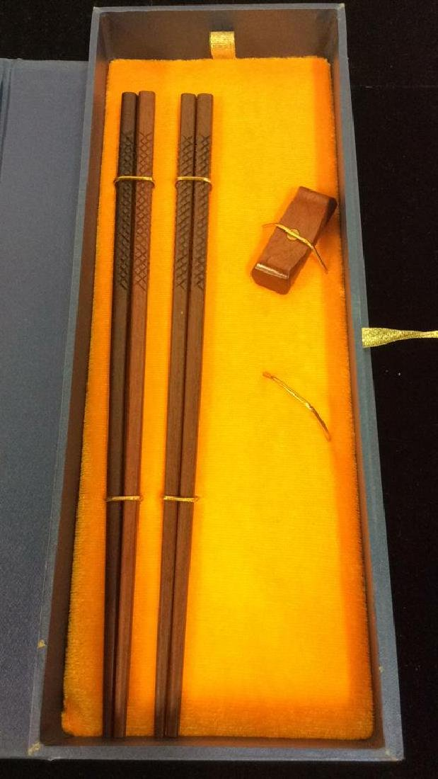 Wooden Chopsticks in Gift Box - 5