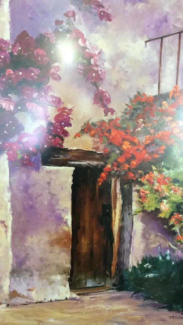 Framed Mary Schaefer Villa Antiqua Poster - 2