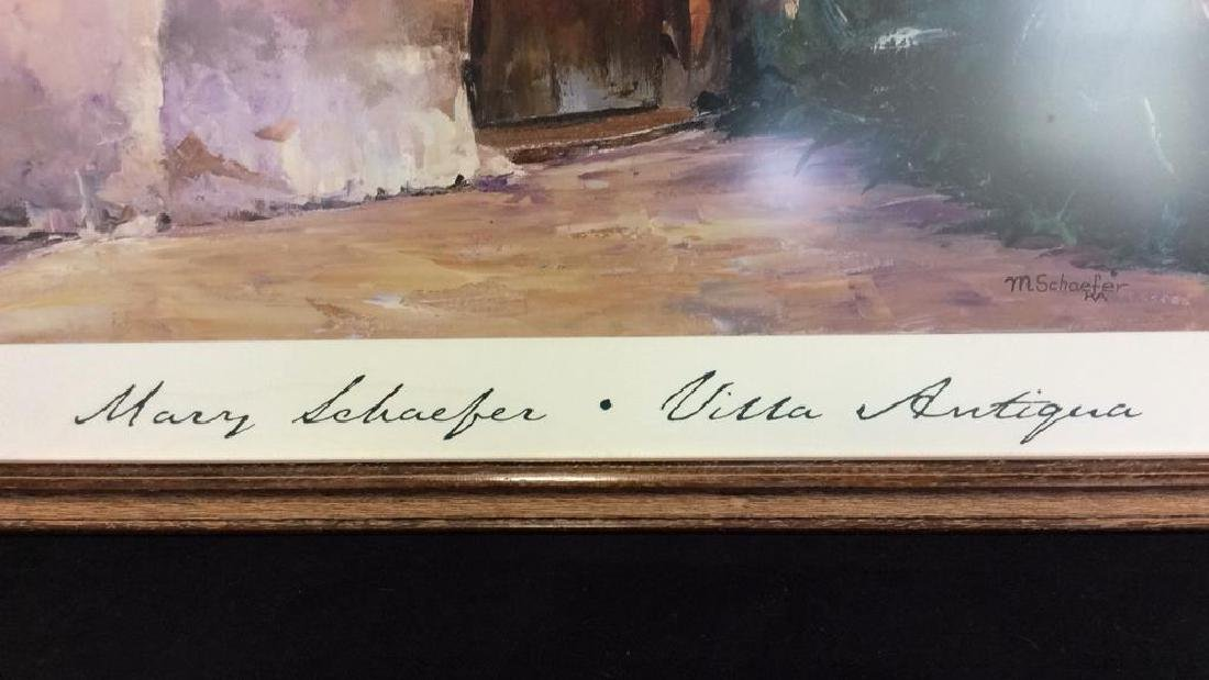 Framed Mary Schaefer Villa Antiqua Poster - 3