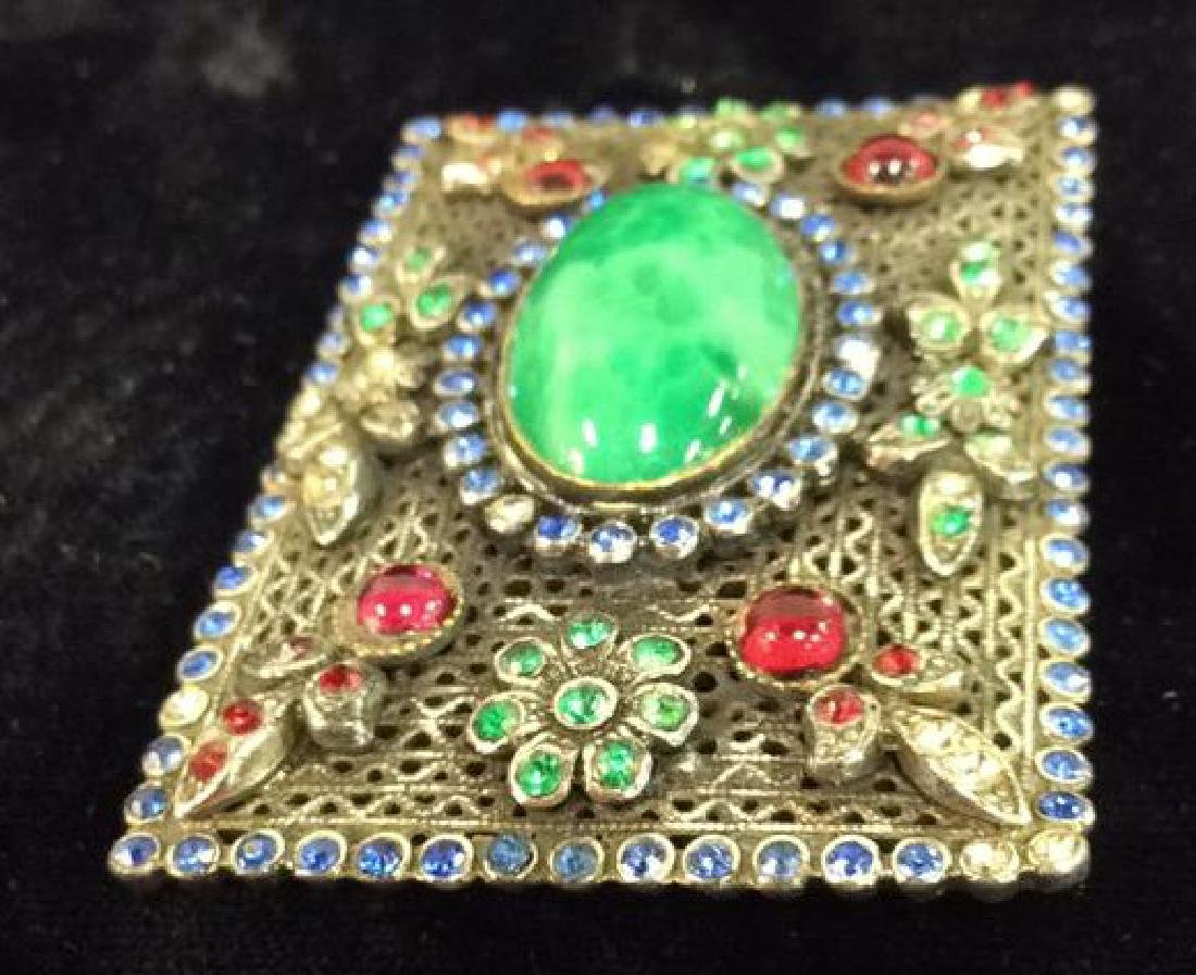 Vintage Brooch Pin Costume Estate Jewelry - 6