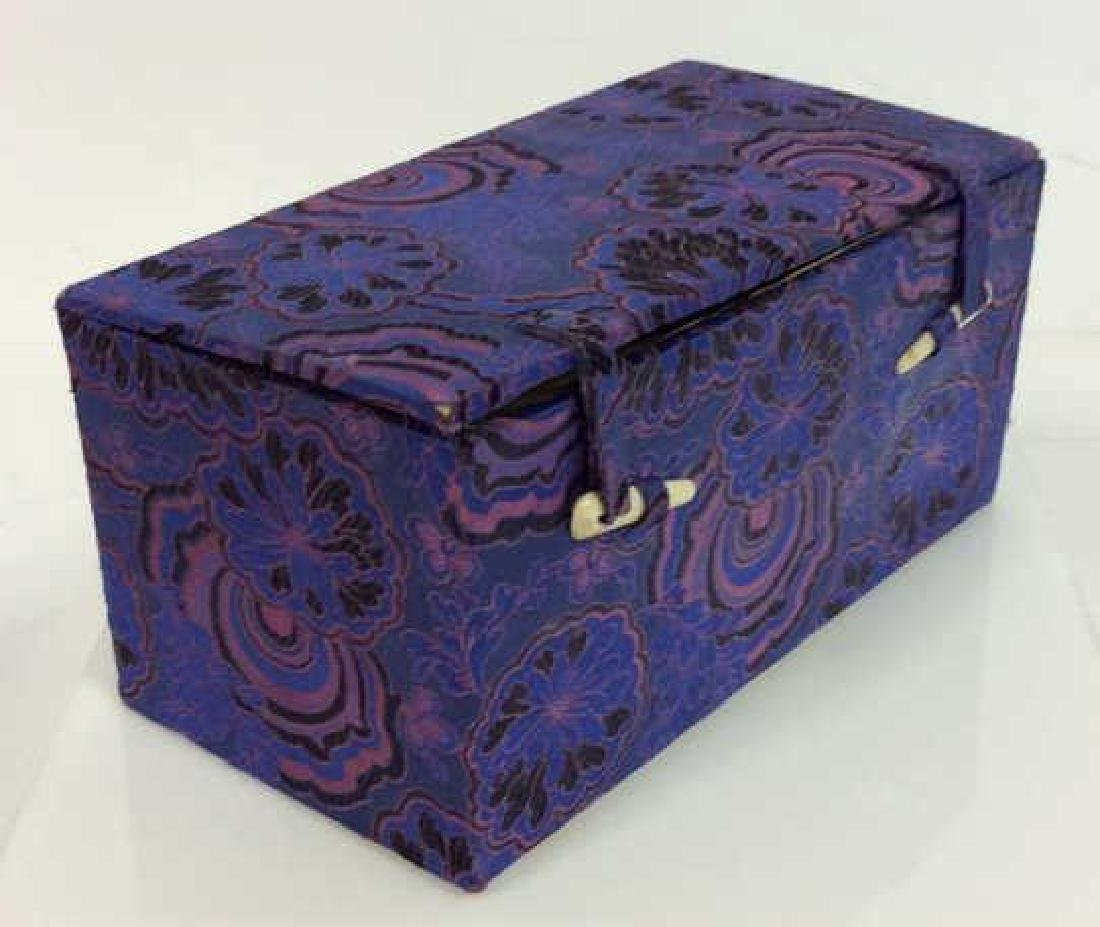 Orientalist Style Floral Embroidered Box