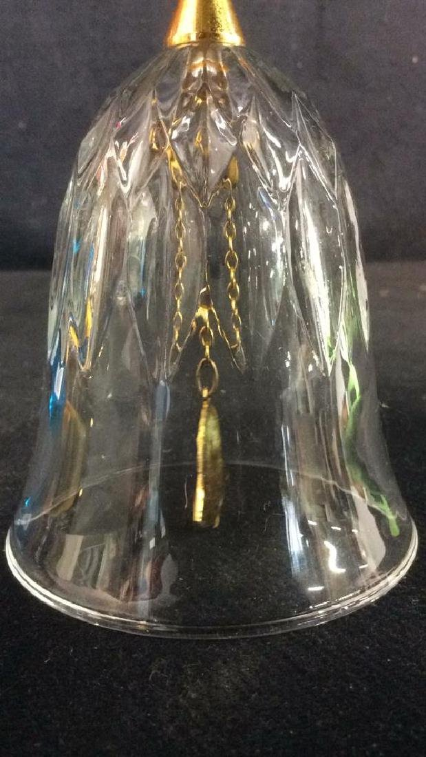 Metal & Glass Bell Collectible - 4