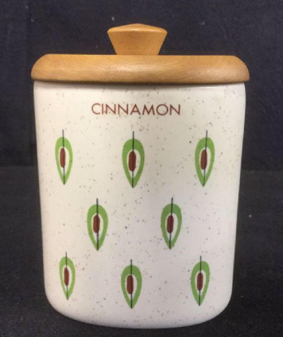 Lot 7 Ceramic Spice Jars Cannisters - 4