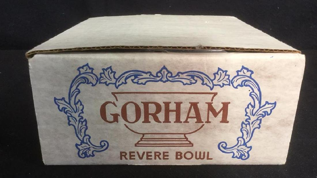 GORHAM REVERE Silver Toned Footed BOWL - 6