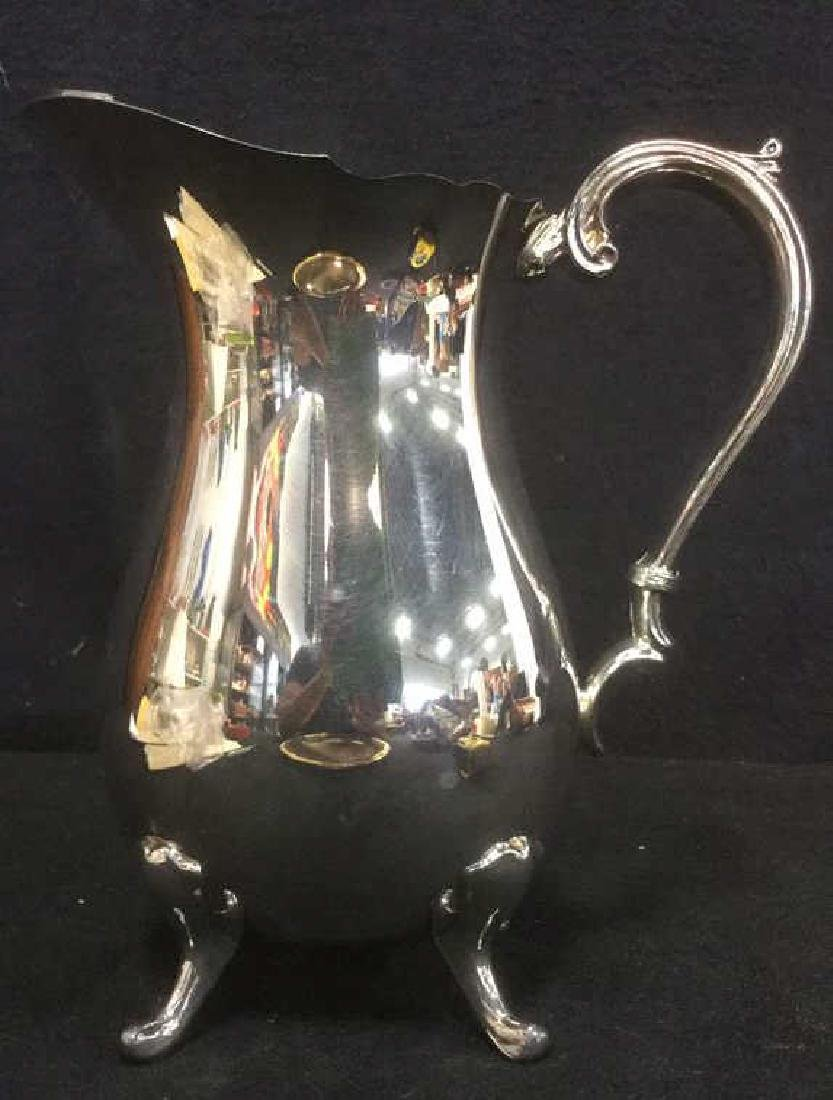 ENGLISH SILVER MFG CORP Footed Pitcher - 2