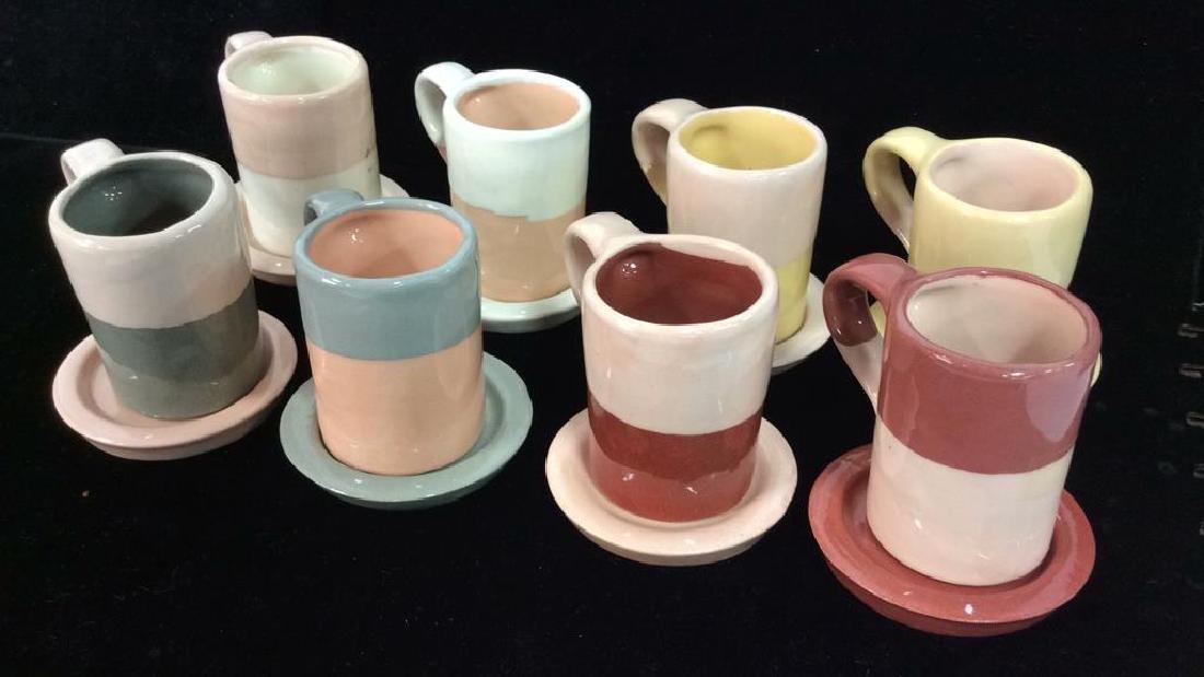 Set 16 Vintage Shurde Ceramic Espresso Mugs W