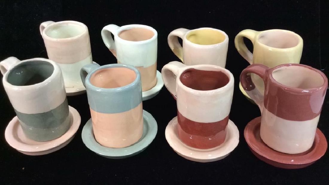 Set 16 Vintage Shurde Ceramic Espresso Mugs W - 2