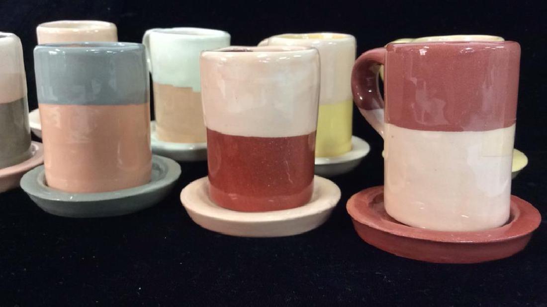 Set 16 Vintage Shurde Ceramic Espresso Mugs W - 3