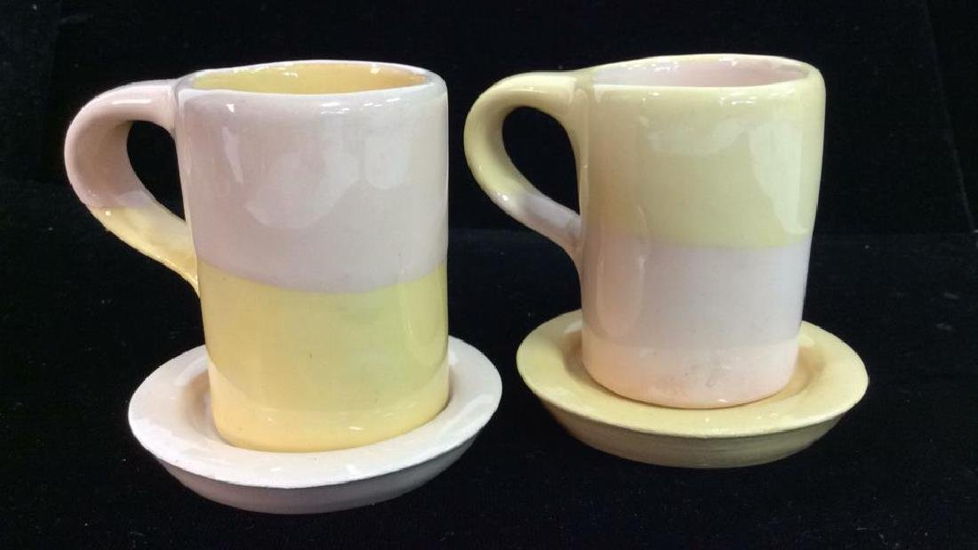 Set 16 Vintage Shurde Ceramic Espresso Mugs W - 4