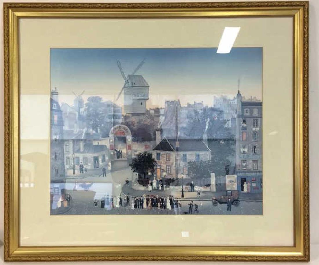 Michel Delacroix Framed Art Print City Scene