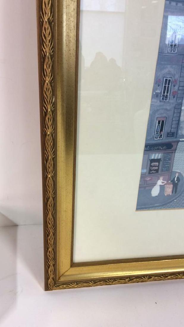 Michel Delacroix Framed Art Print City Scene - 3