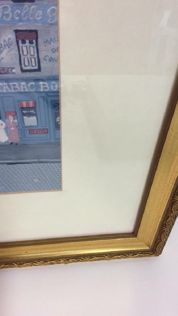 Michel Delacroix Framed Art Print City Scene - 7