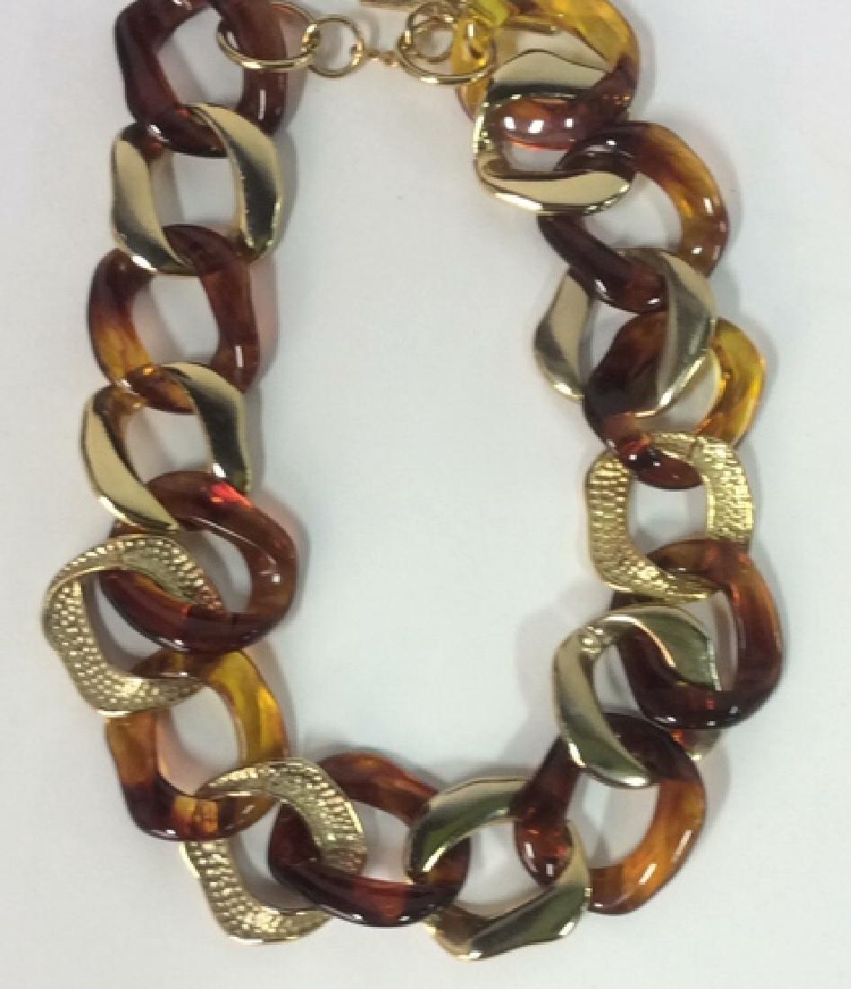 Vintage Nieman Marcus Link Necklace - 2