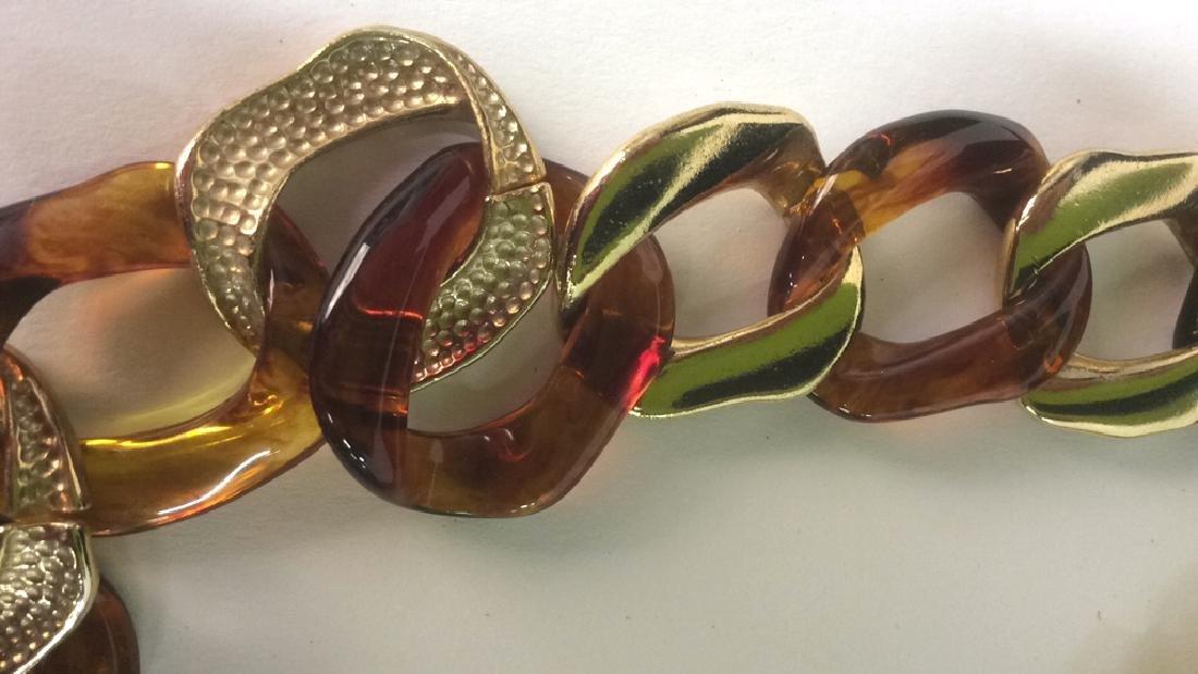 Vintage Nieman Marcus Link Necklace - 4