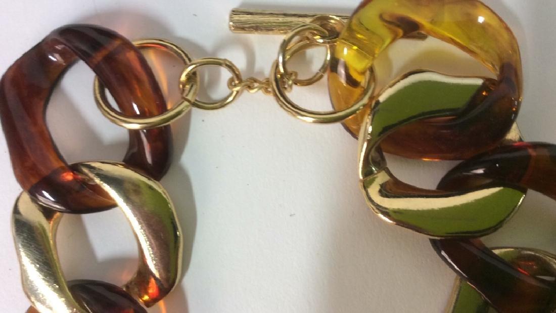 Vintage Nieman Marcus Link Necklace - 5