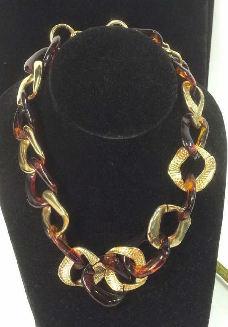 Vintage Nieman Marcus Link Necklace - 6