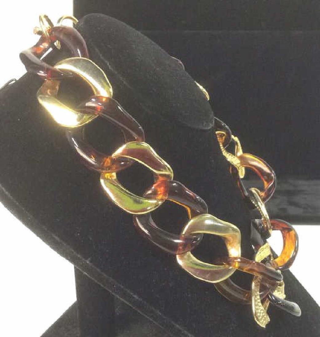Vintage Nieman Marcus Link Necklace - 7