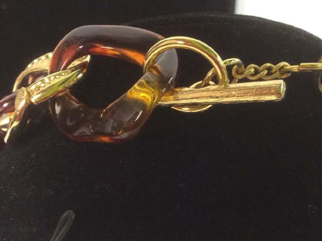 Vintage Nieman Marcus Link Necklace - 8