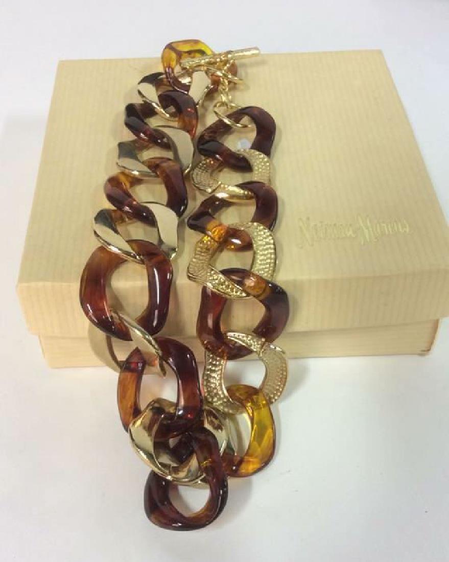 Vintage Nieman Marcus Link Necklace - 9