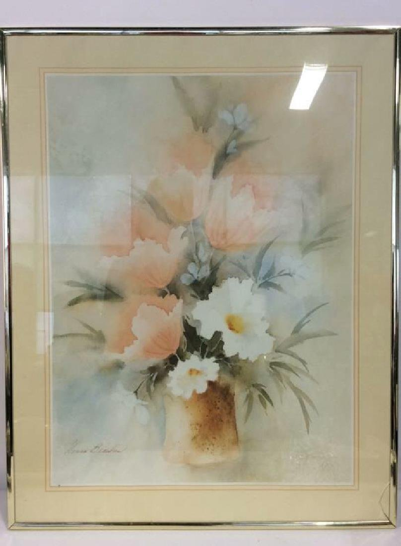Framed Floral Still Life Art Print