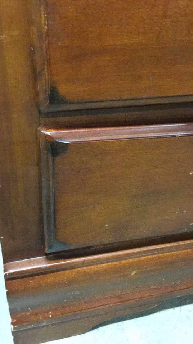 3 Drawer two tone Wood Desk - 6