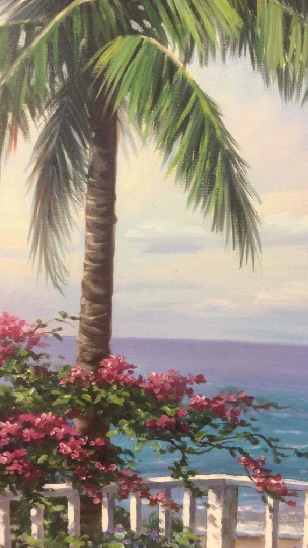 SUNG KIM Framed Beach  Print On Board - 10
