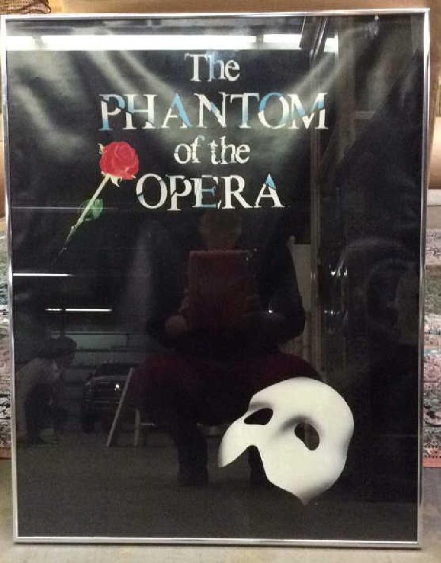 Phantom of the Opera Framed Broadway Poster