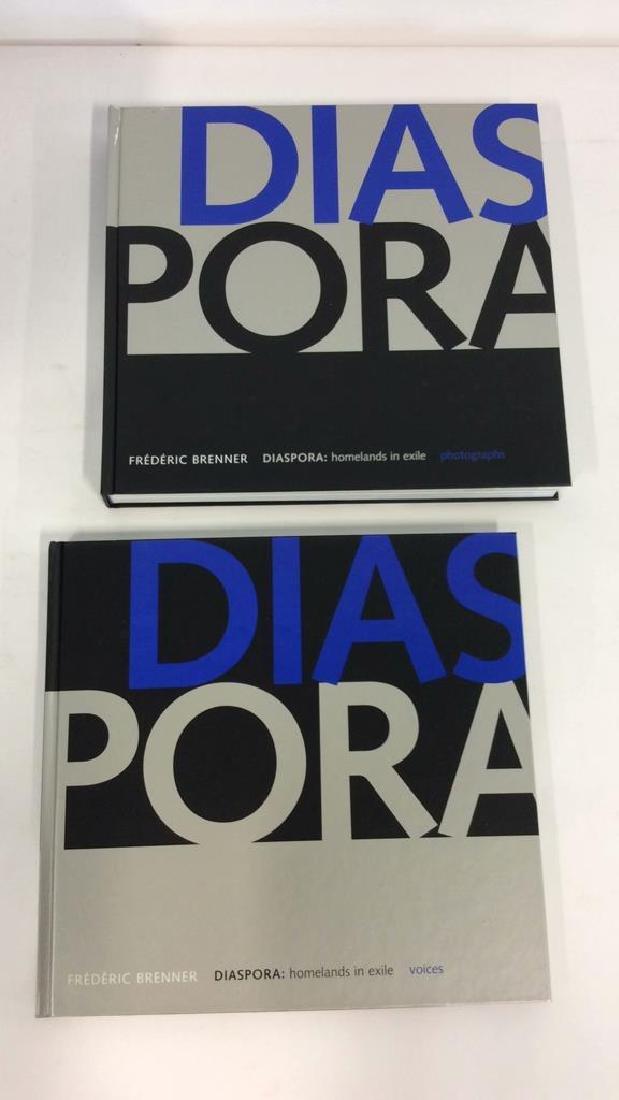 Pair 'Diaspora; Homelands in Exile' Books