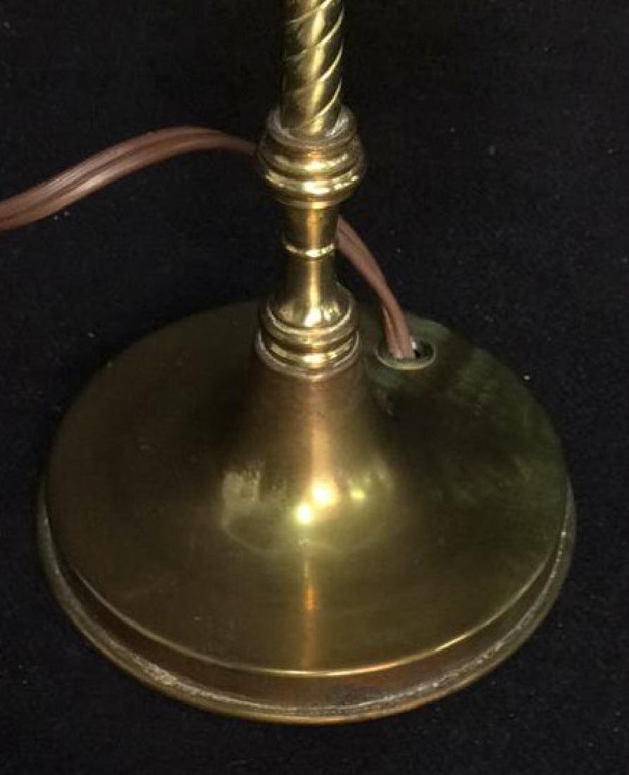 Candlestick Style Electric Lamp - 2