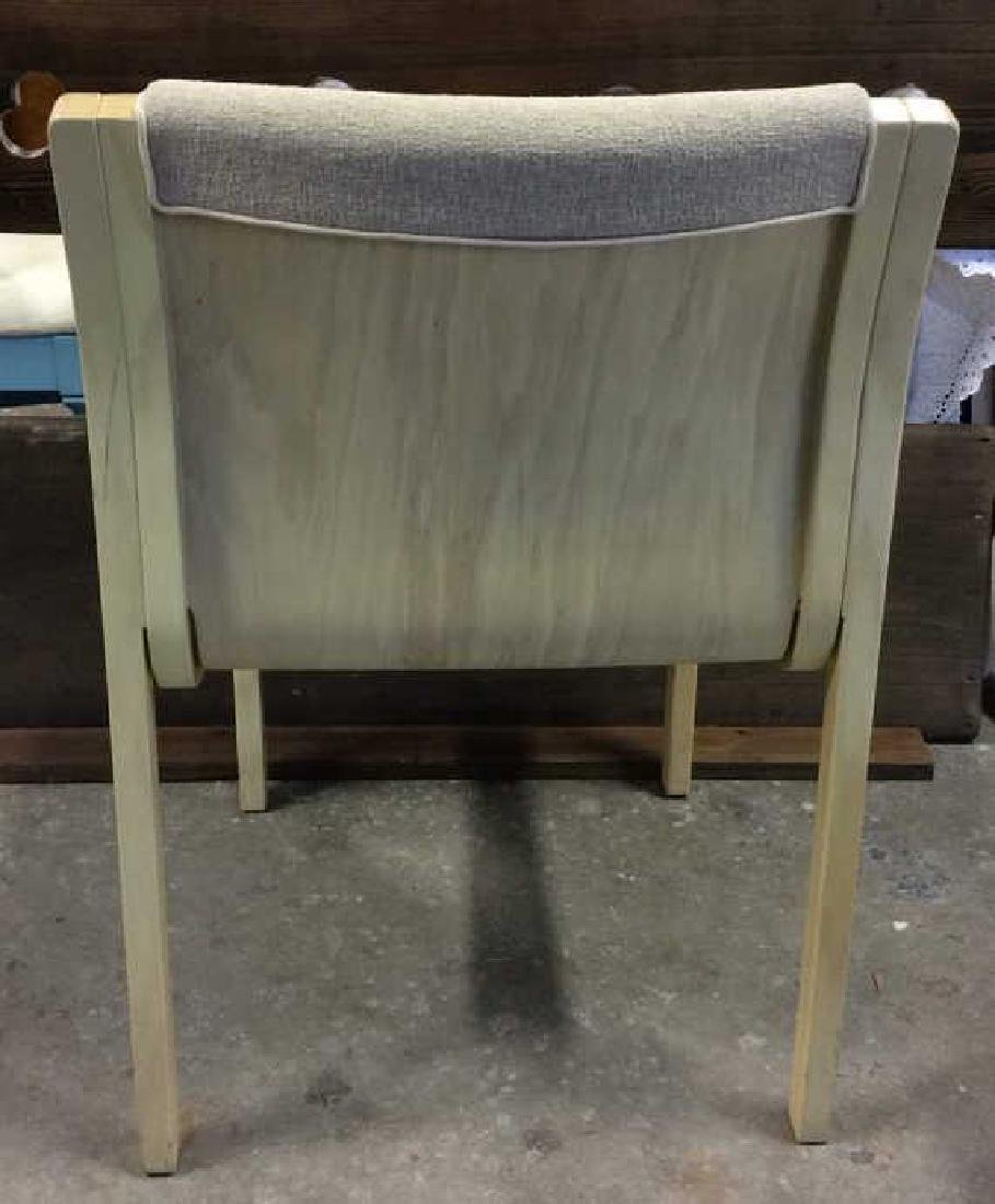 Lot 3 Wooden Cushioned Chairs - 5