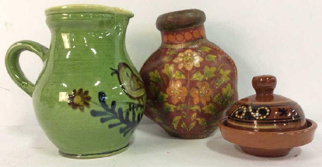 Lot 3 Assorted Tabletop Accessories
