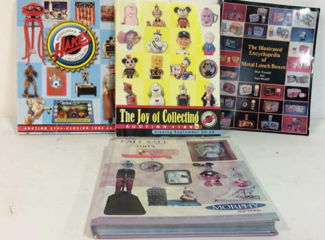 Lot 4 Collectibles Auction Catalogue Books