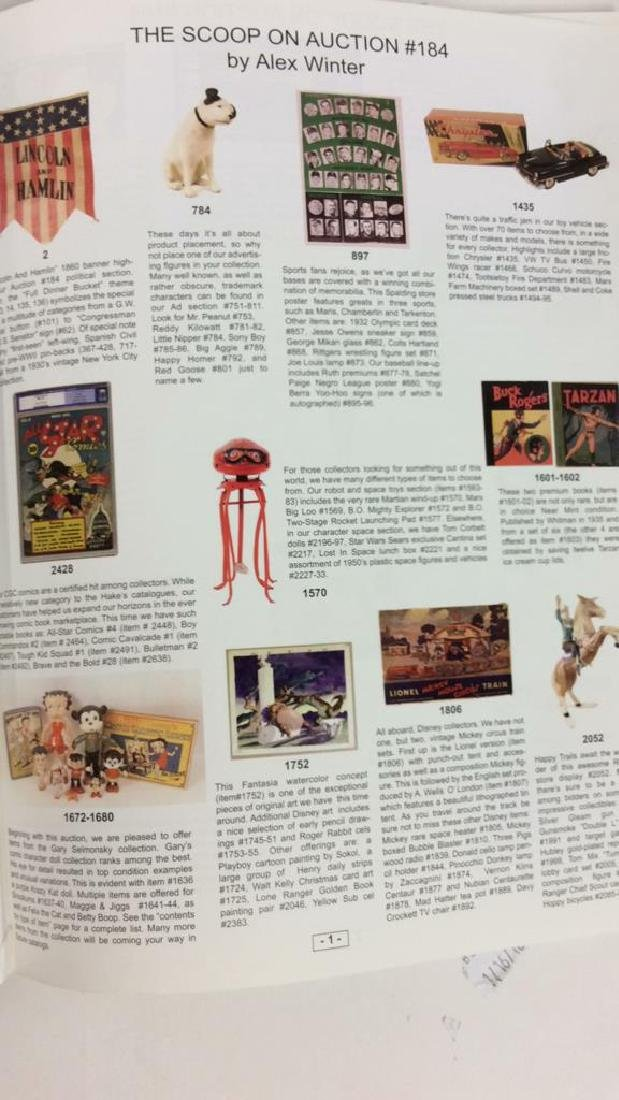 Lot 4 Collectibles Auction Catalogue Books - 6