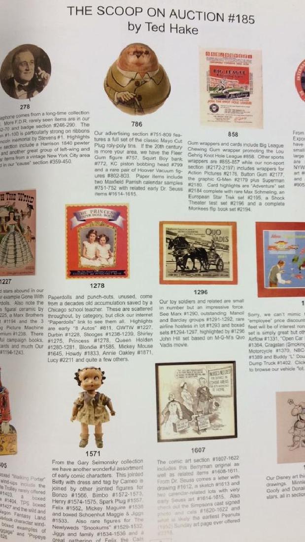 Lot 4 Collectibles Auction Catalogue Books - 8